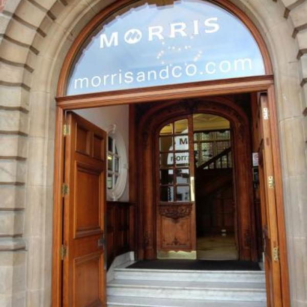 Morris & Co doors open