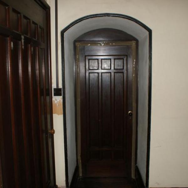 Ruyton Manor black door